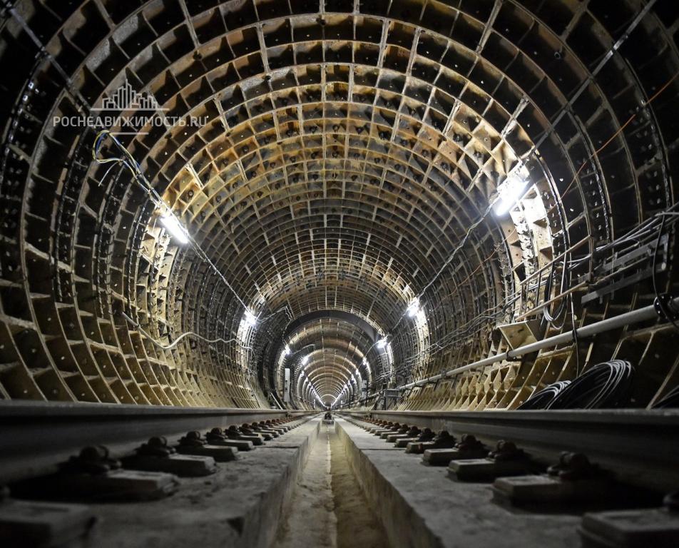 За4года вМоскве построят 105кмлиний метро